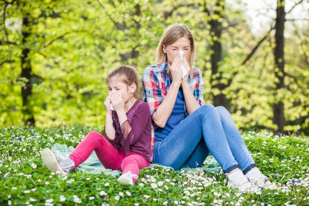 Allergia kezelése és megelőzése nAno Carbonos infraszuanával